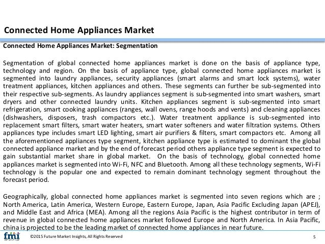 "connected m2m home appliance market in The impact of the internet of things the connected home to connect individual appliances to a home m2m, ihs says: ""the growth of the connected car."