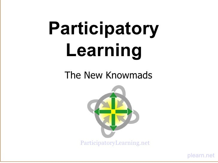 Participatory Learning (with audio)