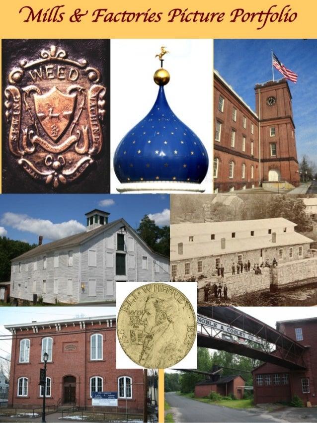 Connecticut & New England Mills & Factories Picture Portfolio