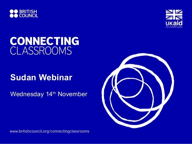 Sudan WebinarWednesday 14th November