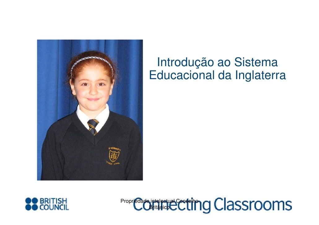 Connecting classrooms   educacao na inglaterra