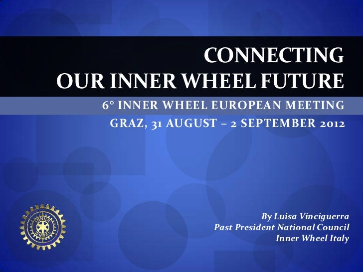 CONNECTING OUR INNER WHEEL FUTURE