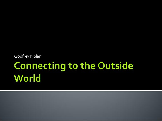 Connecting outsideworld with Android and Arduino