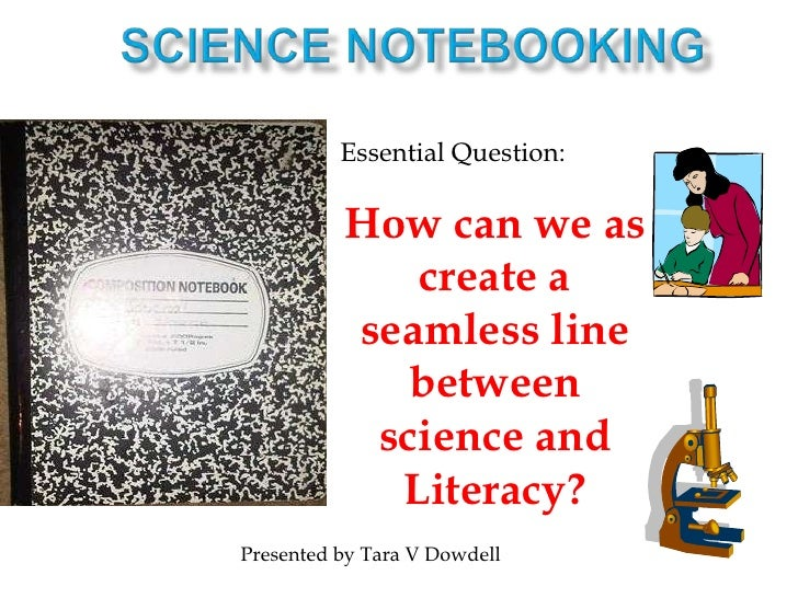 Connecting science to literacy through noteboking