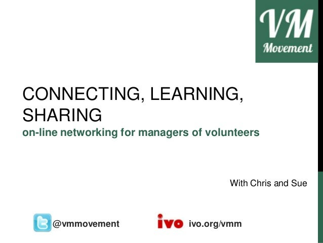 Connecting Sharing Learning - VM Movement