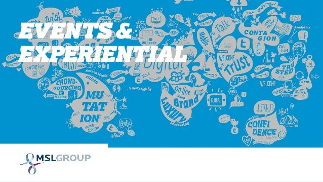 EVENTS & EXPERIENTIAL