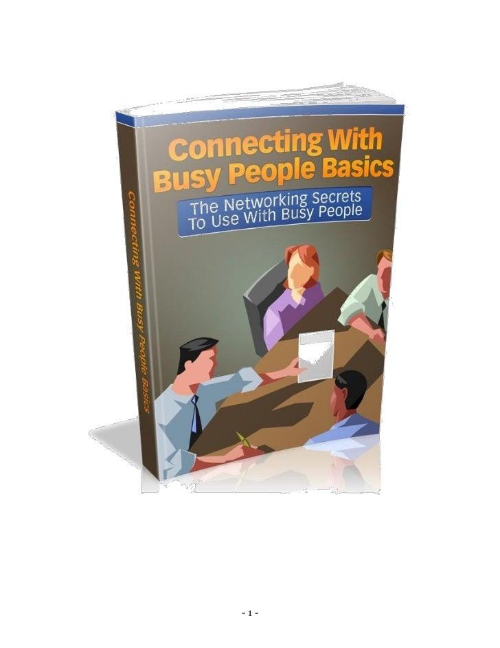 Connecting withbusypeoplebasics 68pr2