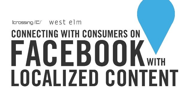 Connecting With Consumers on Facebook with Localized Content