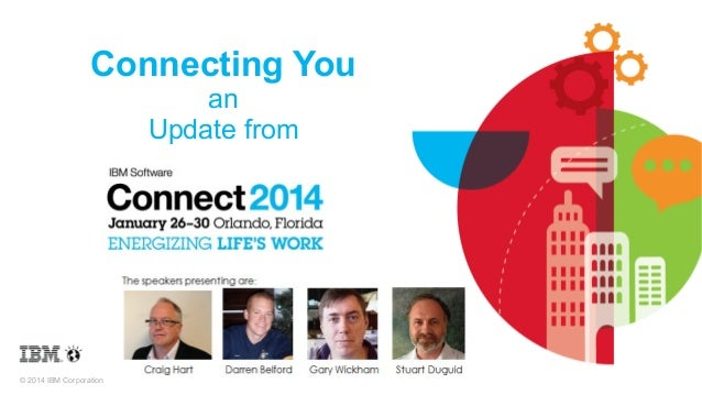 Connecting You 2014 slides