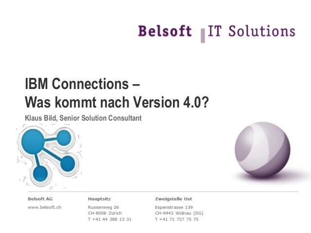 Connections - was kommt nach Version 4.0?