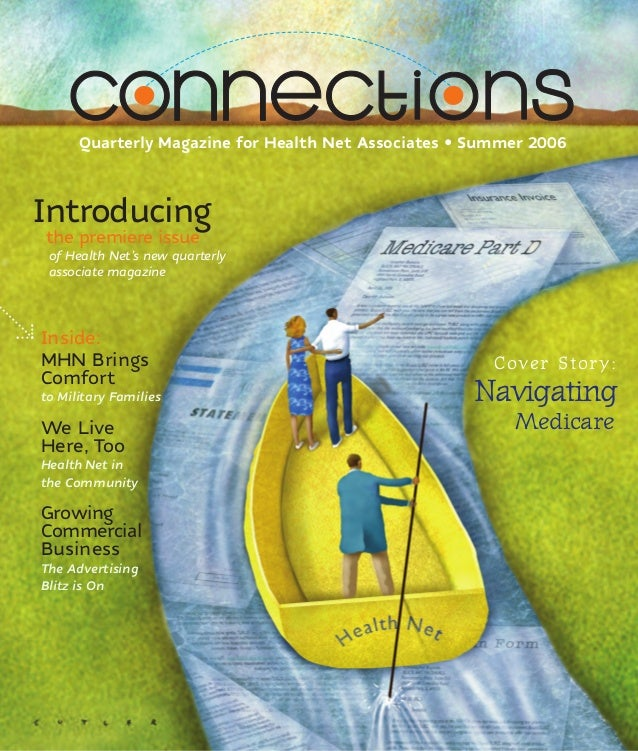 Health Net Connections Print Magazine #1