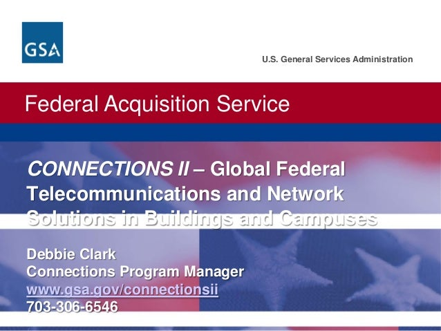 Federal Acquisition Service U.S. General Services Administration U.S. General Services Administration. Federal Acquisition...