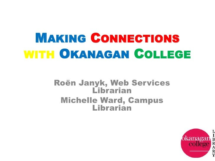 Connections with OC: PD Workshop