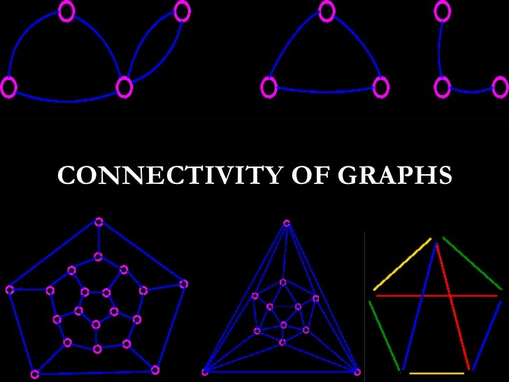 Connectivity of graphs<br />