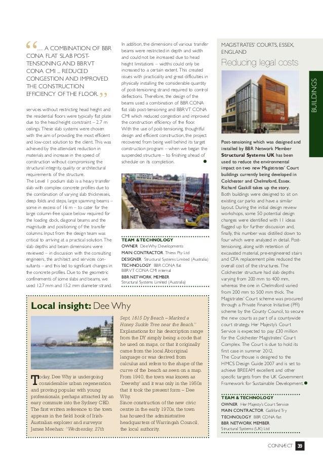 Connect magazine essex courts buildings 2011
