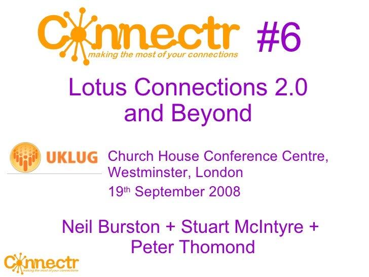 #6 <ul><ul><li>Church House Conference Centre, Westminster, London </li></ul></ul><ul><ul><li>19 th  September 2008 </li><...