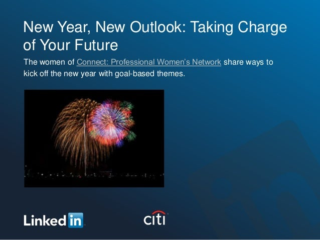 New Year, New Outlook: Taking Charge of Your Future