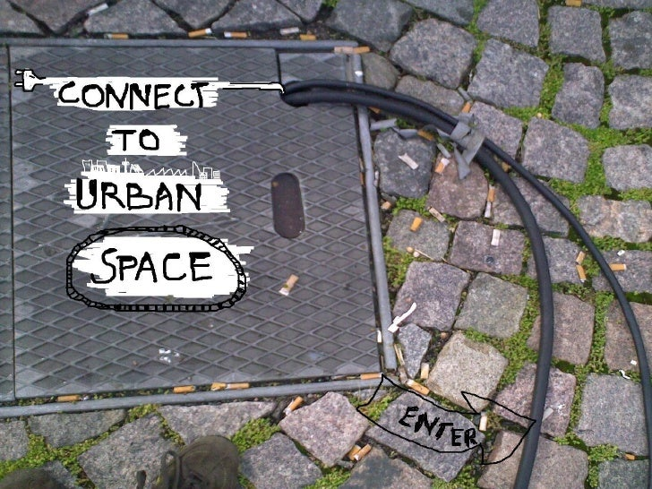 Connect to urban space