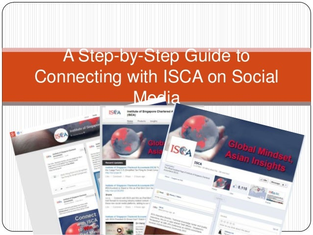 A Step-by-Step Guide to Connecting with ISCA on Social Media