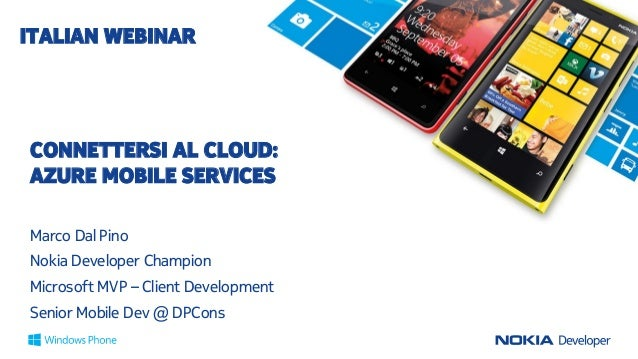 Connettersi al Cloud Azure Mobile Services