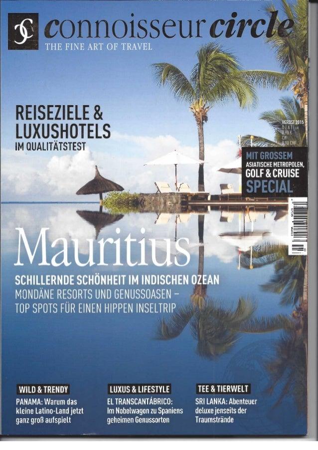 Connisseur circle novmber 2015 - RP RPM DIN PAR