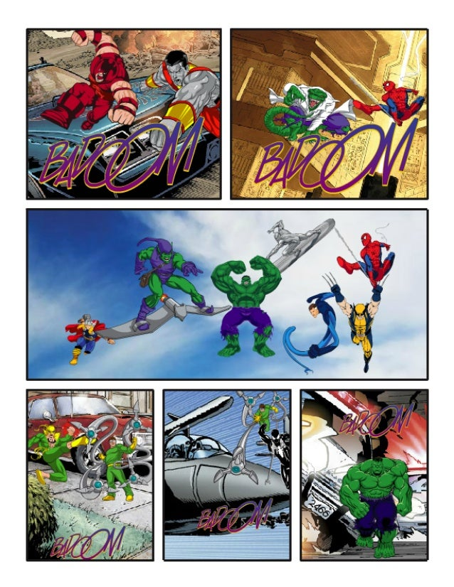 The Avengers (short comic)