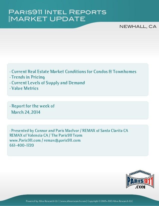 Connor macivor market update [condo] Newhall 2014-083