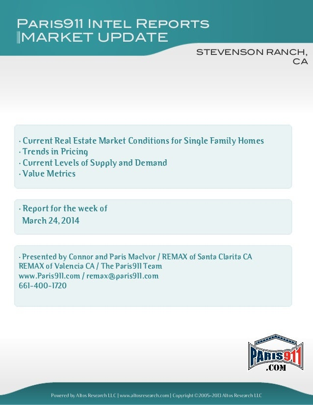 Stevenson Ranch real estate and market update 2014-083