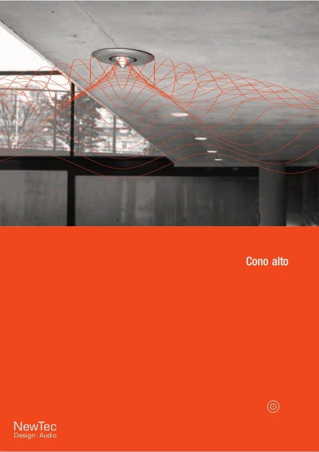 Cono alto NewTec Design : Audio
