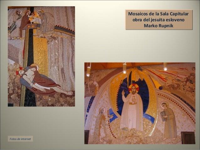 Mosaicos de la Sala Capitular obra del jesuita esloveno Marko Rupnik Mosaicos de la Sala Capitular obra del jesuita eslove...