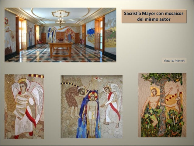 Sacristía Mayor con mosaicos del mismo autor Sacristía Mayor con mosaicos del mismo autor Fotos de internet