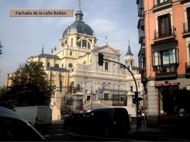 Fachada de la calle BailénFachada de la calle Bailén