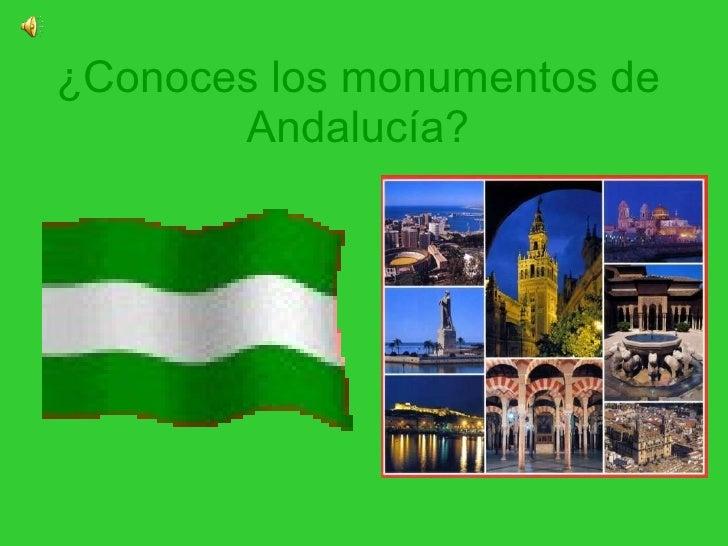 ¿Conoces los monumentos de Andalucía?