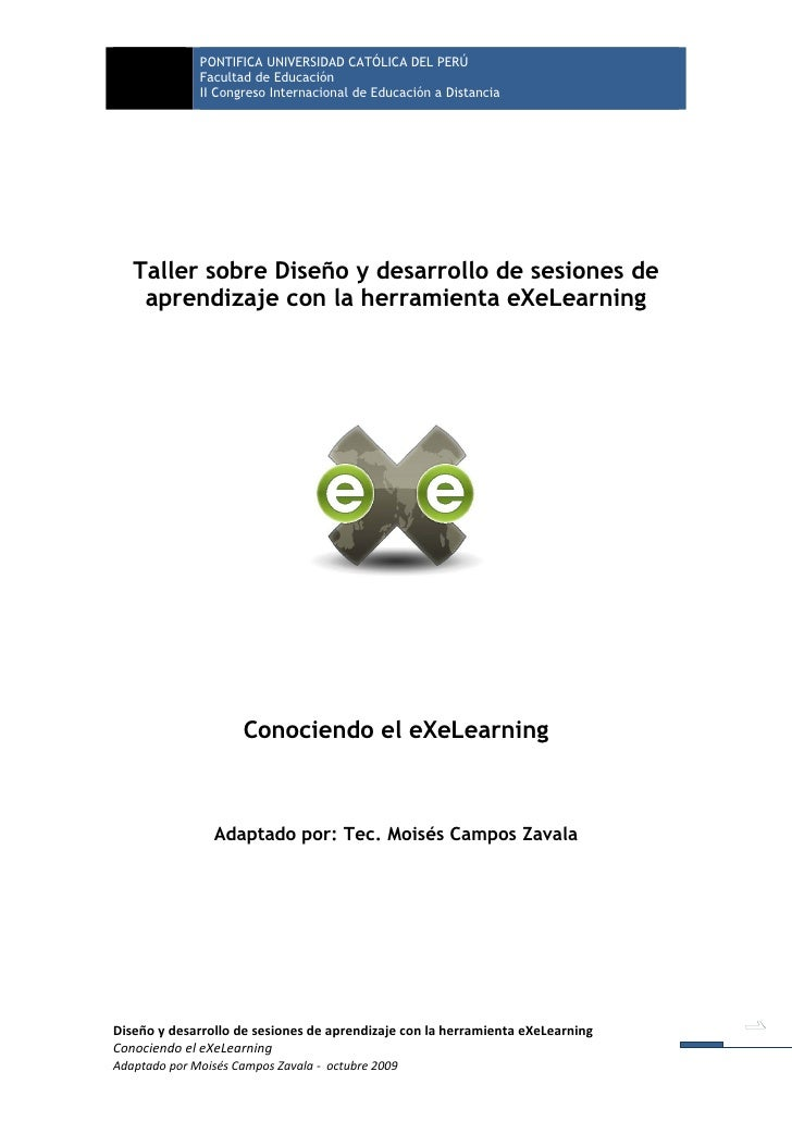 Conociendo eXe-Learning