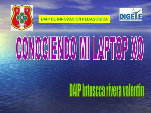 Conociendo la laptop_xo