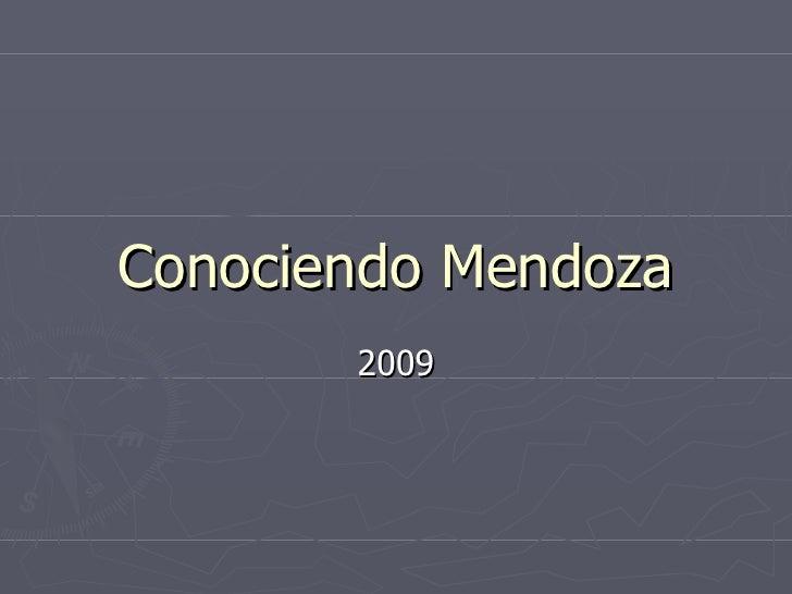 Conociendo Mendoza 2009