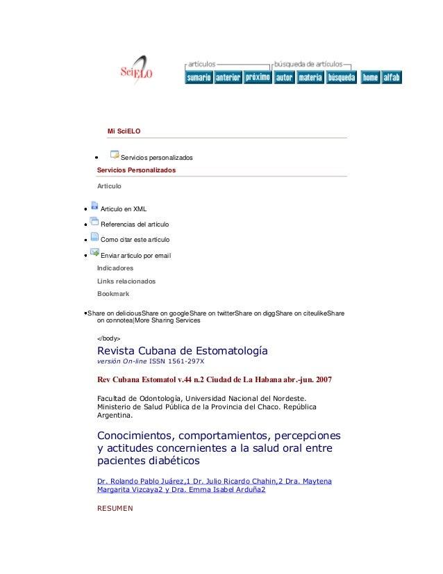 Mi SciELO  Servicios personalizados Servicios Personalizados Articulo  Articulo en XML Referencias del artículo Como citar...