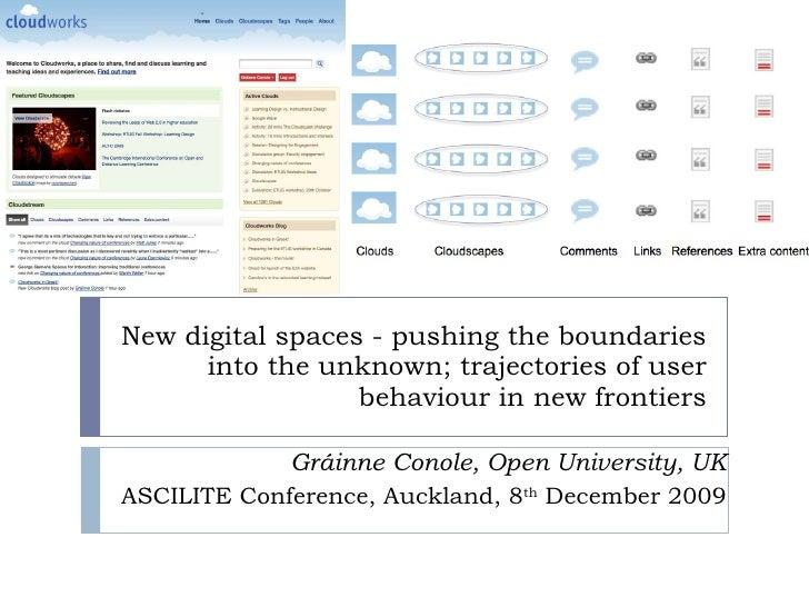 Conole Keynote Ascilite 2009 Conference Presentation
