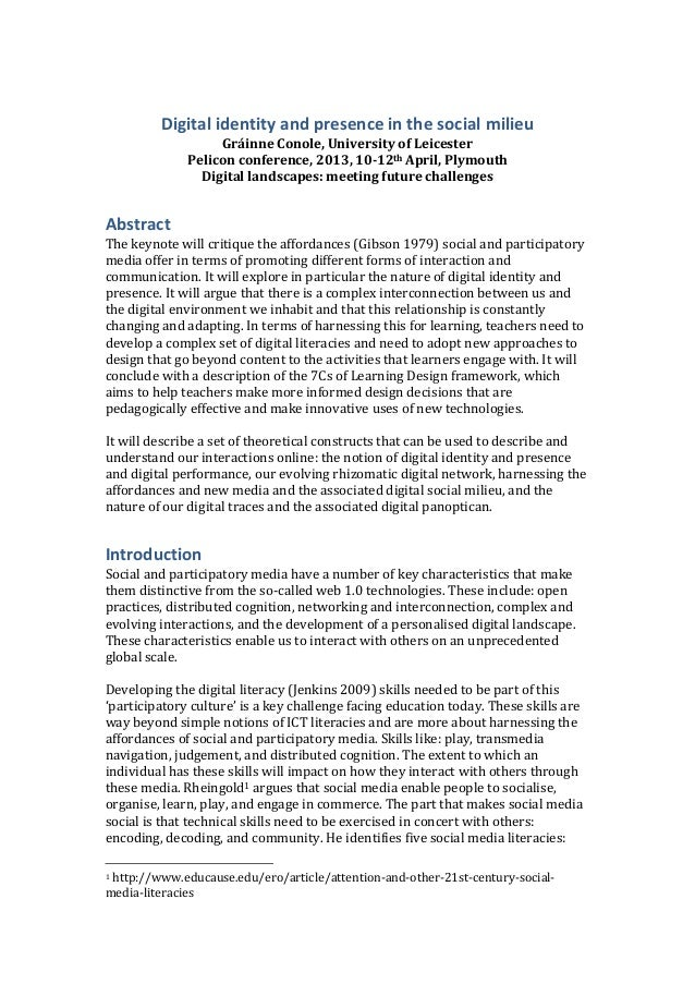 Conole keynote paper