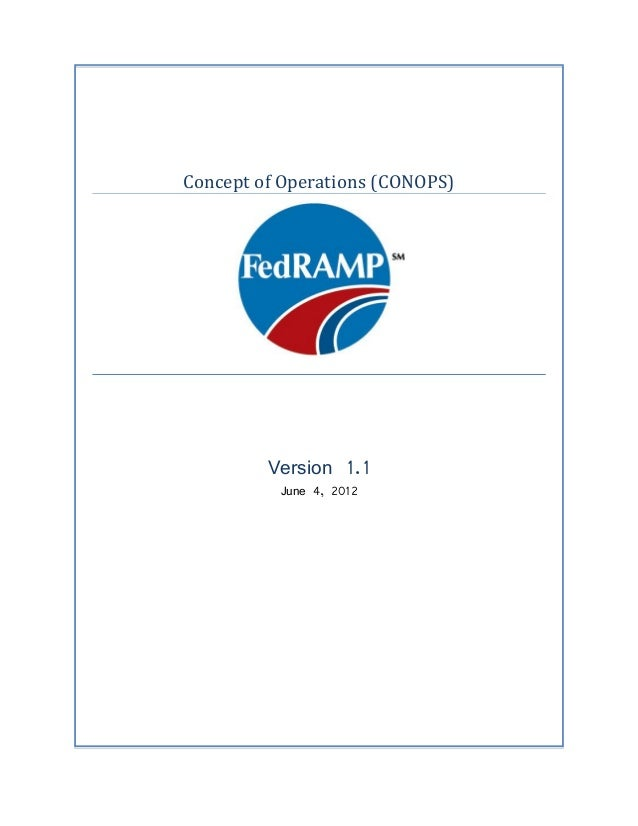 Concept of Operations (CONOPS)         Version 1.1          June 4, 2012