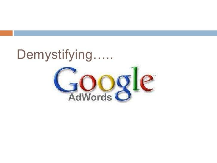 Google Adwords - Wondermummy