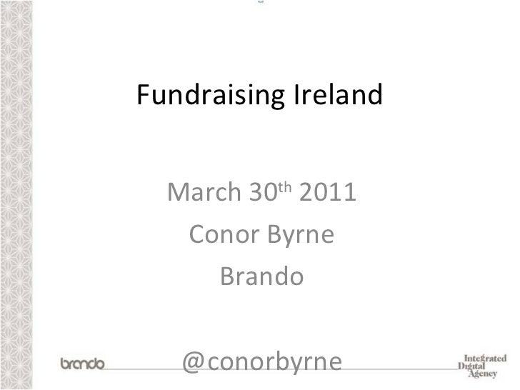 Fundraising Ireland - Beyond the Like