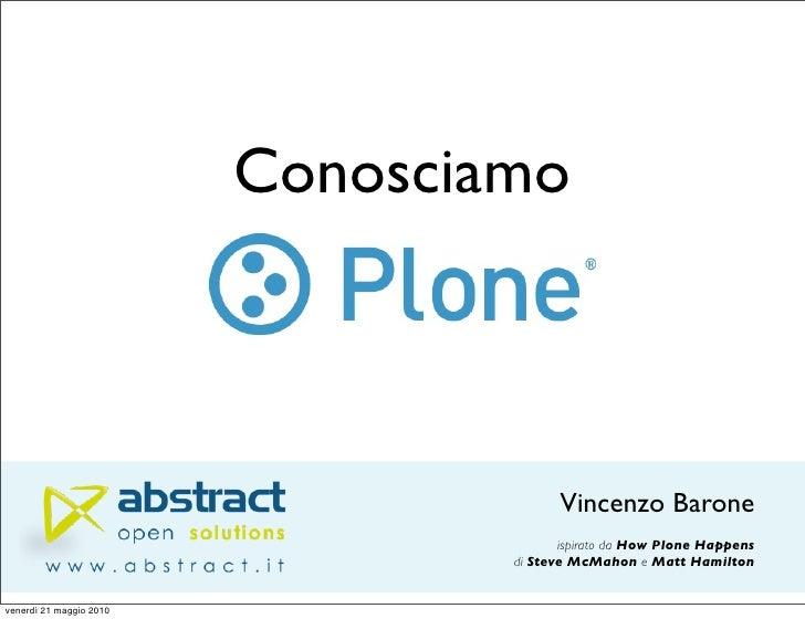 Conosciamo                                           Vincenzo Barone                                         ispirato da H...