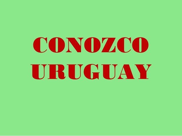 Conozco uruguay