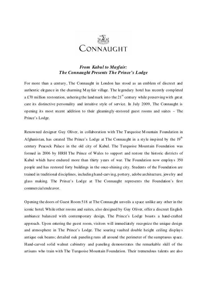 Princes Lodge - The Connaught, Maybourne Hotel Group, London, United Kingdom