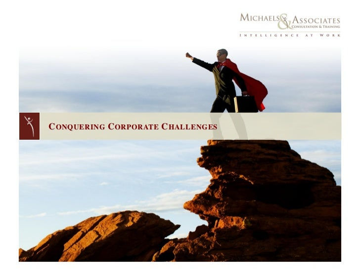 Conquering Corporate Challenges