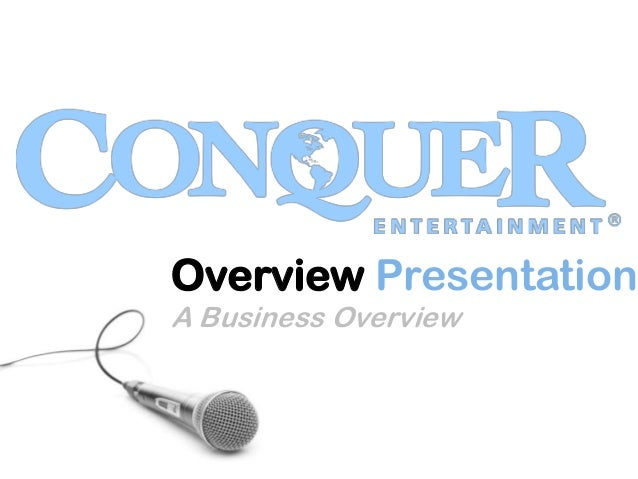 Conquer Overview may2013