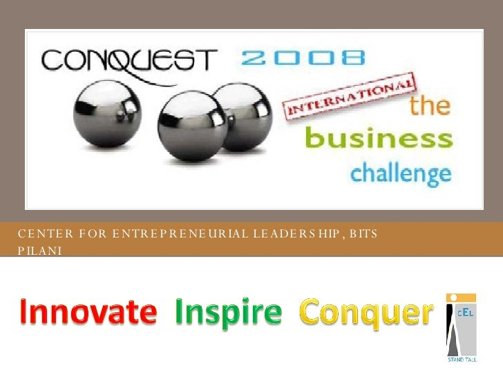 Conquest 2008 Presentation