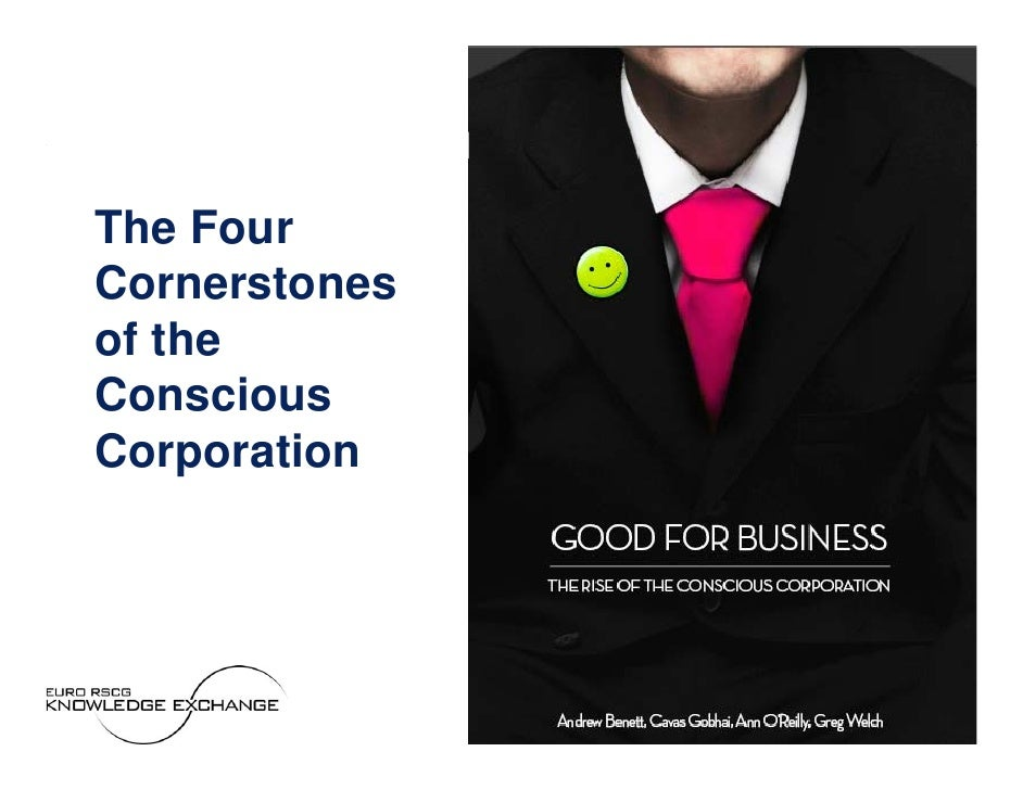 The Four Cornerstones of the Conscious Corporation