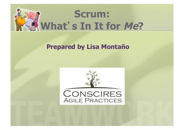 Intro to scrum webinar